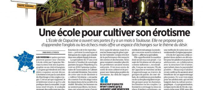 L'Ecole rayonne hors de Toulouse !