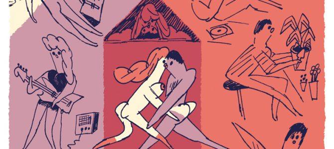 Le regard dessiné de l'épisode 02 de la série «Couple & Érotisme»