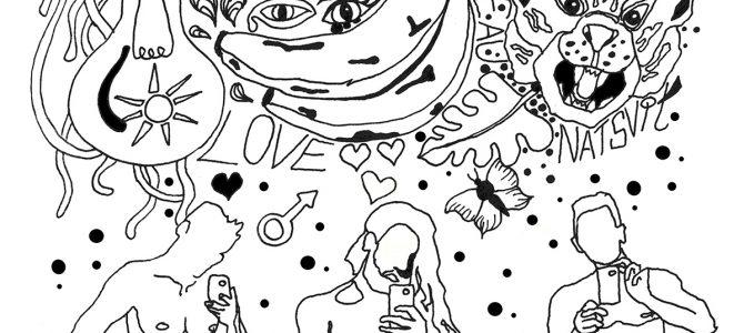 Le regard dessiné de Natalie Svit-kona Eïfyran